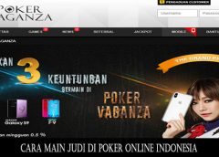 Cara Main Judi di Poker Online Indonesia